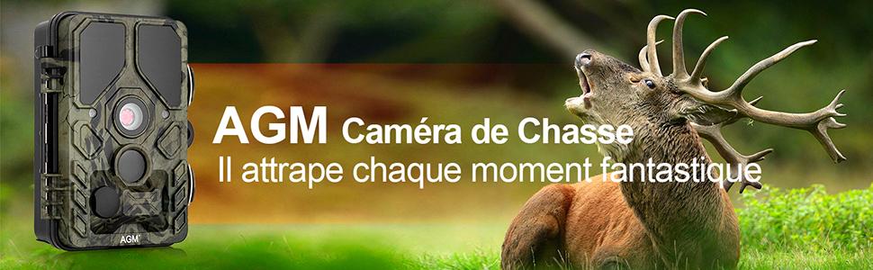caméra de chasse AGM